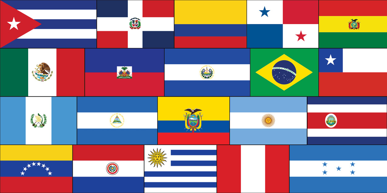 flags - Hispanic Mama